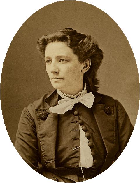Victoria Woodhull, 1870 (public domain)